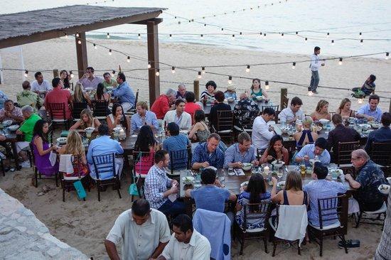 Hacienda Cocina y Cantina : Rehearsal Dinner on the Beach