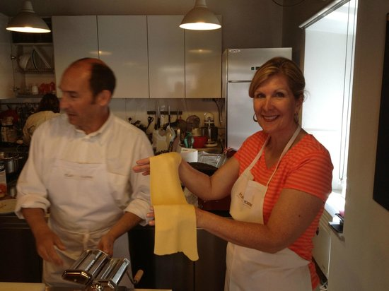Trustevertastes : Making homemade pasta for the very first time