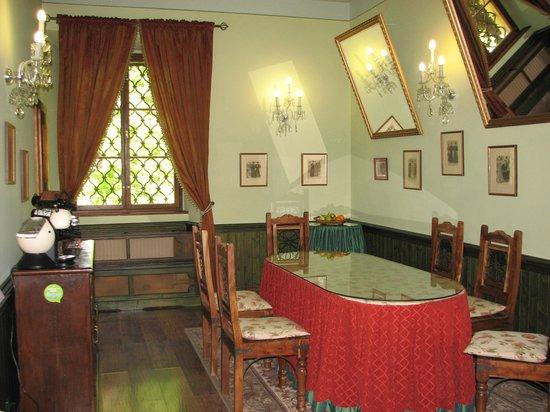 Chateau of Jemniste: big dinning room
