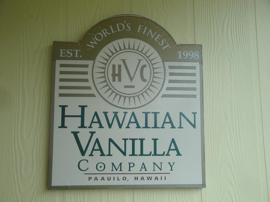 Hawaiian Vanilla Company: Hawaii Vanilla Company