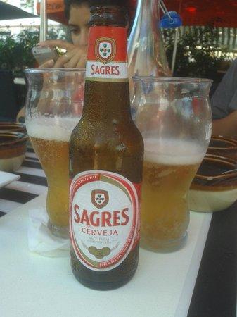 Rio Station: Cerveja Portuguesa.
