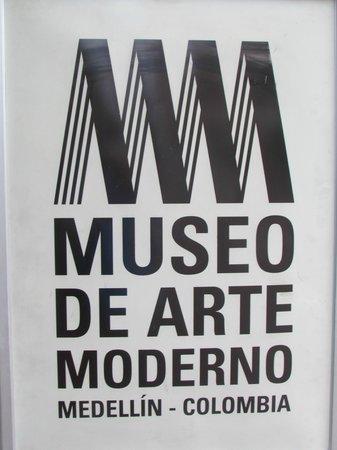 Museo de Arte Moderno de Medellin: logotipo