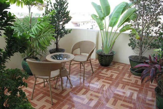 Smart Hotel: Balcony