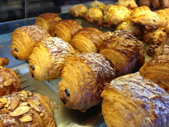 B.K. Bakery: Chocolate Croissants