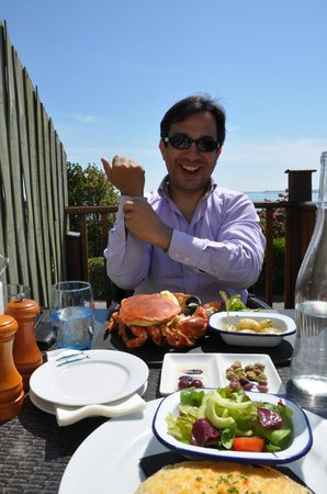 Crab Shack Gorey: best lunch of the trip