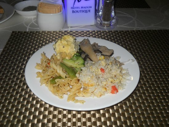 Hotel Maison Boutique: Desayuno buffet
