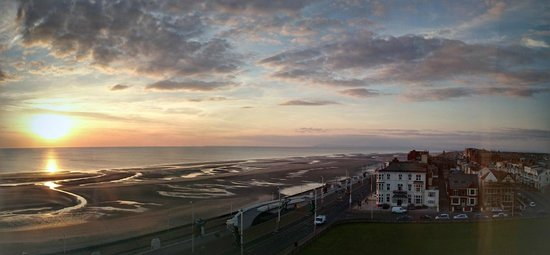 Grand Hotel Blackpool: Room view from Level 6