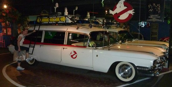 Hollywood Star Cars Museum: Ghostbusters!!!