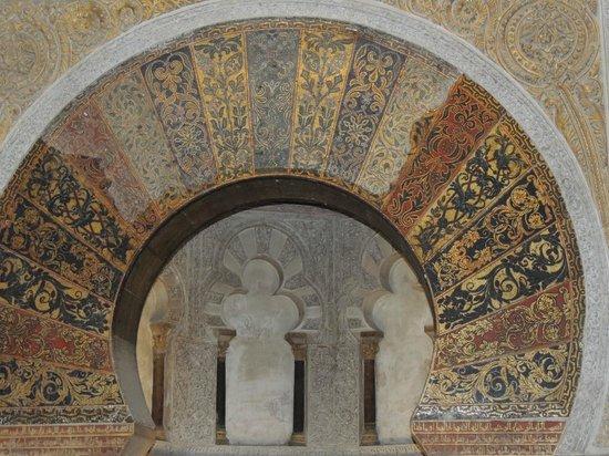 Cathédrale de Cordoue : O portal do mihrab