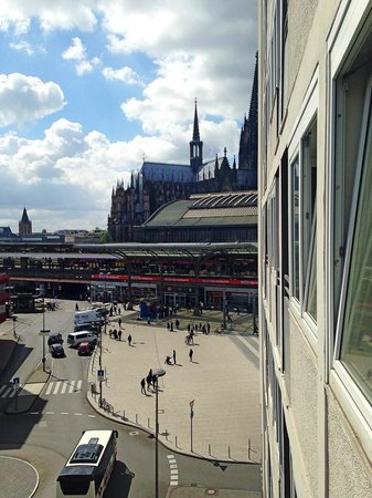 Wyndham Köln: View from the balcony.