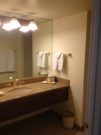 Scottsdale Plaza Resort: Main bathroom vanity, very roomy