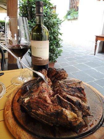 All'Antico Ristoro di Cambi : Bisteca Fiorentina