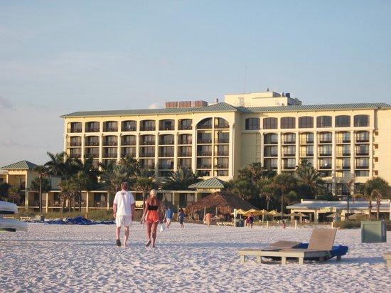 Sirata Beach Resort : View of hotel from beach