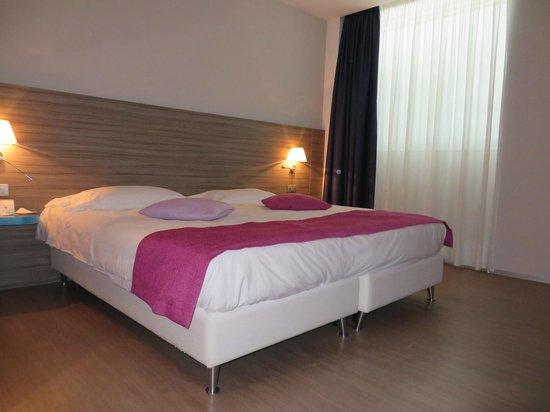 Mercure Venezia Marghera hotel: A cama é confortável