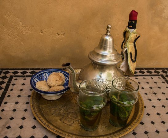 mint tea at Dar Seffarine