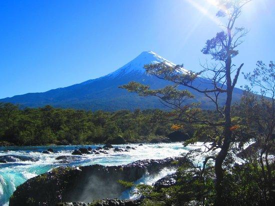 Saltos del Petrohue: Volcán Osorno