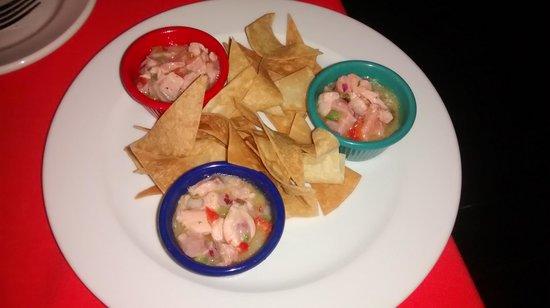 SOHO : Ceviche de salmão - delicia