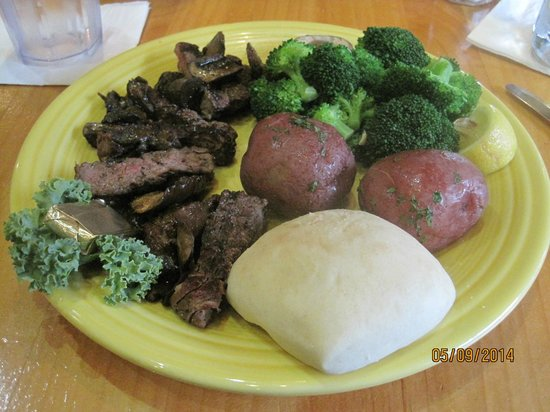 Adventures : Sportmens Steak & Mushrooms