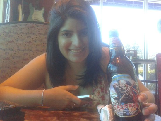 Rock n Roll Ribs: A Cerveja Iron Maiden