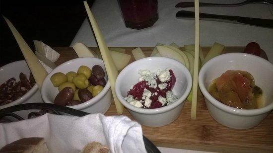 Barcelona Tapas: Tabla de quesos