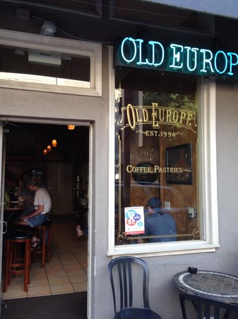 Old Europe Coffee & Pastries: Front