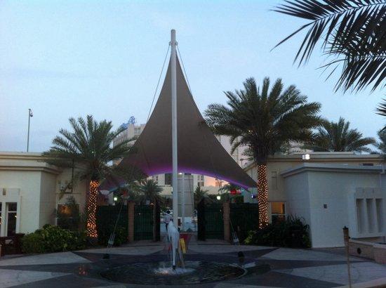Hilton Abu Dhabi: Entrata Hiltonia