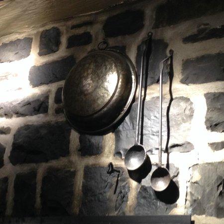 Le Lapin Sauté: Above the Fireplace