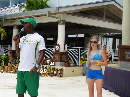 Beaches Ocho Rios Resort & Golf Club: rodney and emily