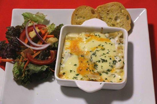 Cafe-Bar El Gran Cogolon: deliciosa lasaña!!
