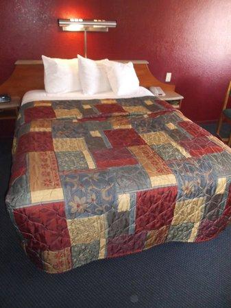 Red Roof Inn Gallup : Un bon lit confortable - Chambre 242.