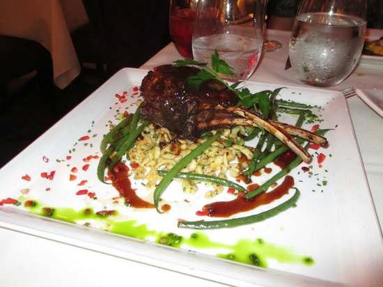 The Winery Restaurant & Wine Bar: Venison special of the night