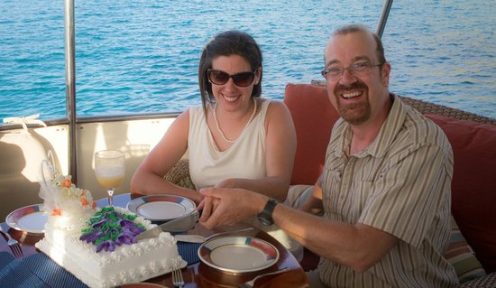 Aqua Marine Dive Center: Cake included!