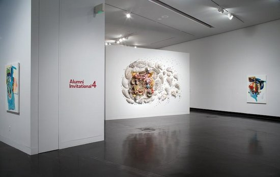 Tang Teaching Museum: Installation view, Alumni Invitational 4, 2014