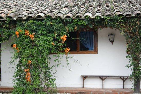 Hosteria Hacienda San Francisco : exteriores del Hotel