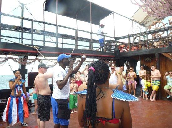Ocean Adventures Stingray Bay Caribbean Festival : Cappuccino