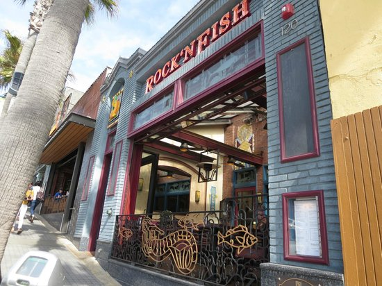 Rock'N Fish: Front Facade