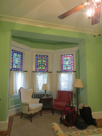 Cornerstone Bed & Breakfast: Our room - The Philadelphian