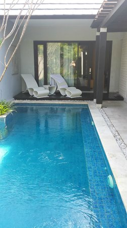 The Jineng Villas : Pool area
