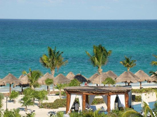 Secrets Maroma Beach Riviera Cancun : vista desde la habitación 1548