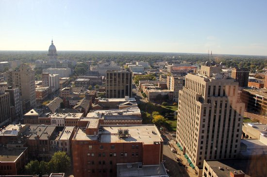 Wyndham Springfield City Centre: view from #2202