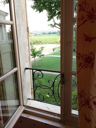 Chateau Gigognan : Vue de la chambre de Sophie