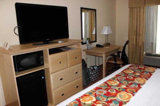 La Quinta Inn & Suites Rochester: King Room.