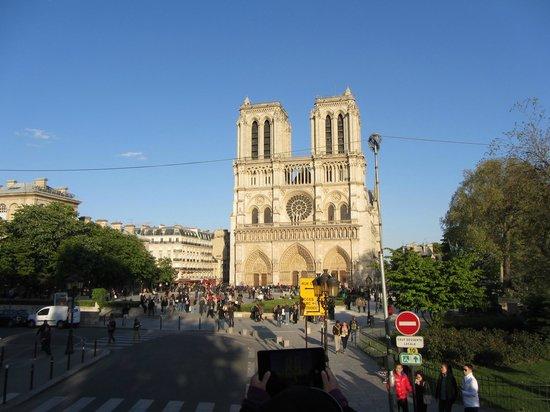 Île de la Cité : Notre Dame