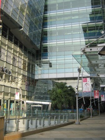 Dream Mall: View of Mall from ground level
