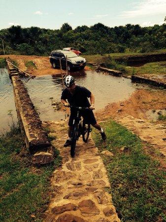 Hotel & Resort Lagos de Menegua: Paseo combinado de carro y bicicleta