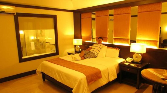 Henann Lagoon Resort: At the room..