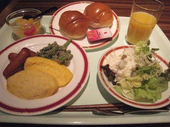 Kanazawa Central Hotel : 朝のバイキング