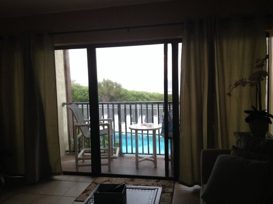 Chateau By The Sea : Unit 208, you have pool view and ocean view!