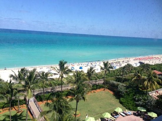 Holiday Inn Miami Beach: view from the room