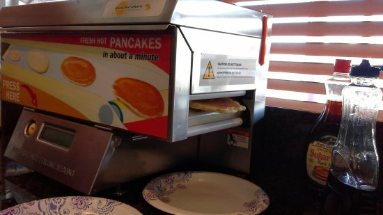 Travelodge Holbrook: only in America - good pancakes too!